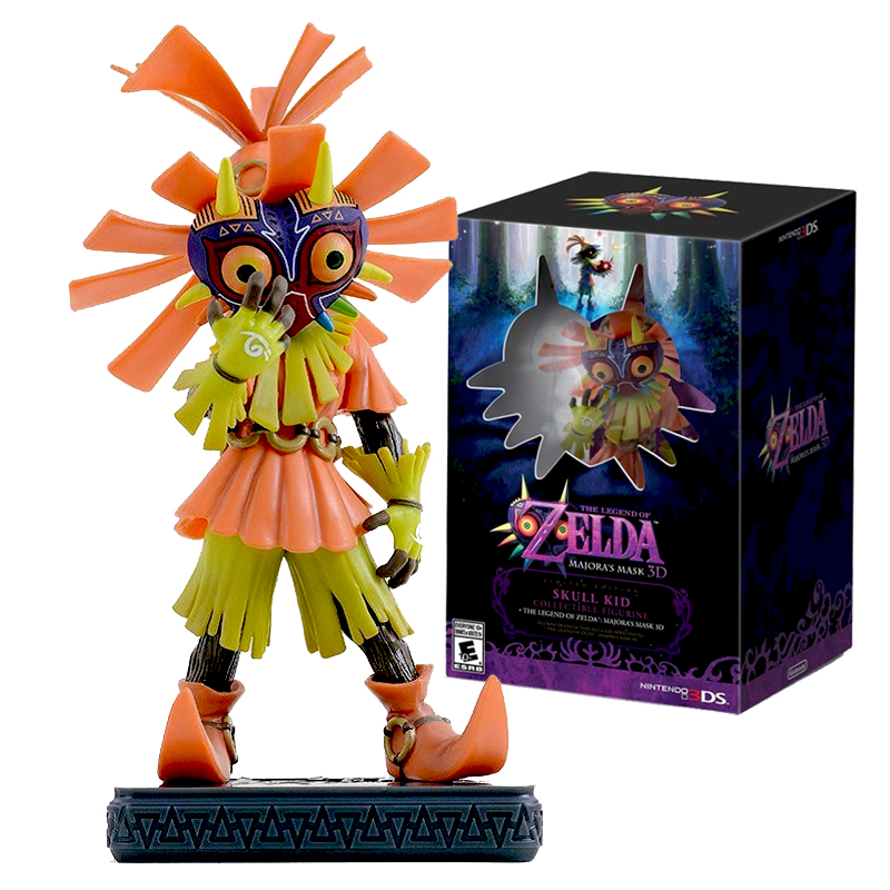 Legend Of Zelda Figure Skull Kid Majoras mMask Figure ONLY Limited-Edition Nintendo 3DS Majoras Mask Figure IN STOCK<br><br>Aliexpress