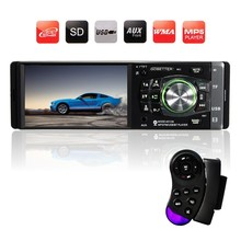 New 4.1 inch 12V Bluetooth TFT LED screen Handsfree Car Radio Stereo MP3 MP4 Player Wheel Control FM/USB(China (Mainland))