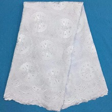 Buy African Swiss Voile Lace 2017 High White Embroidery Wedding Lace African Fabric 100% Cotton Swiss Voile Lace PL-10364 for $48.84 in AliExpress store