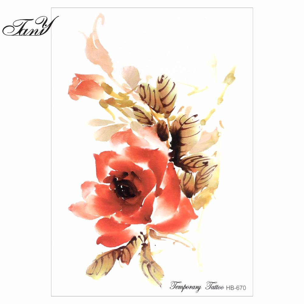 Tattoo Fuß Frau Arabische: Hohe Qualität Blume Tätowierungen Arm Werbeaktion-Shop Für