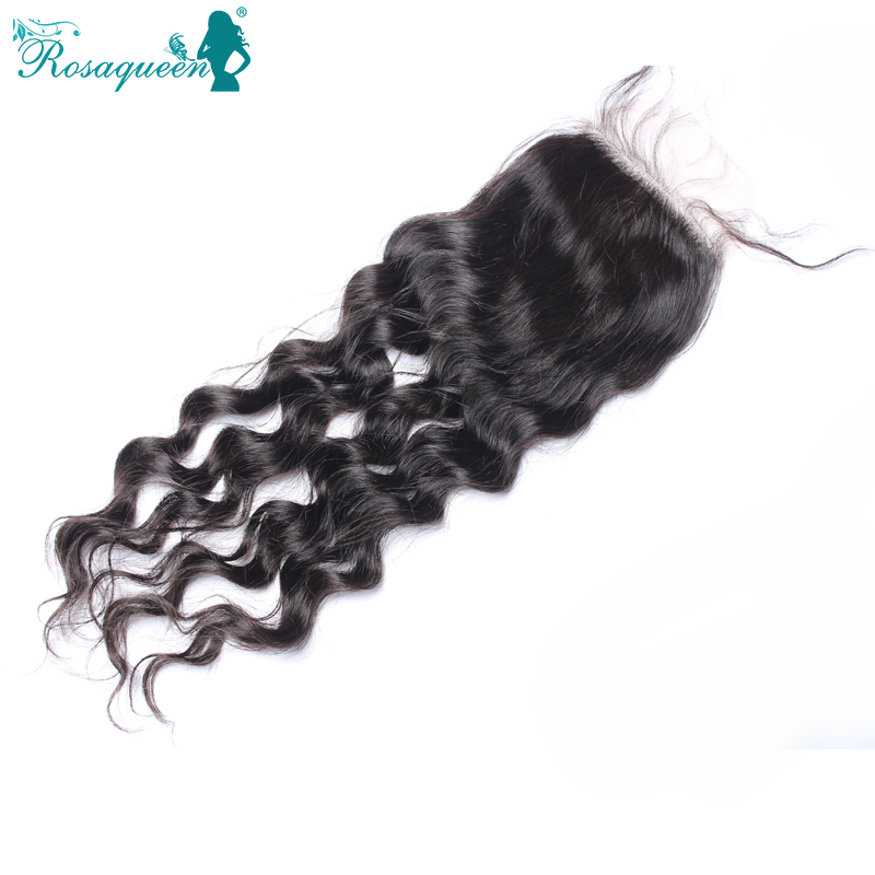 Aliexpress Brazilian Virgin Hair Loose Wave Silk Based Closure Free Style Natural Color 10-20Inch In Stock Free Shipping 6A<br><br>Aliexpress