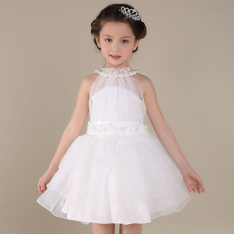 Cute Toddler Elegant Baby Girls Party Dress 2016 Children
