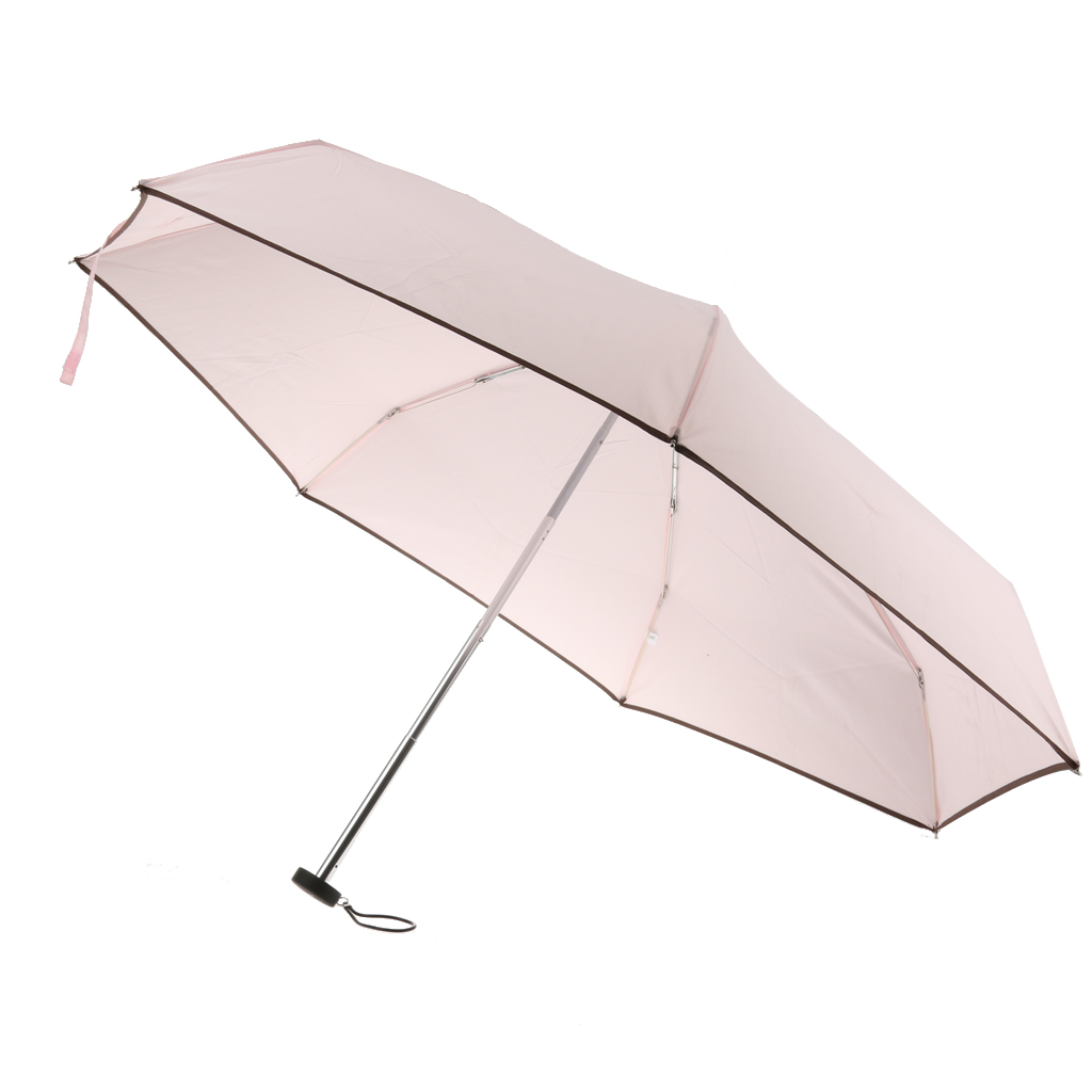 Hot Folding Compact Waterproof Anti-UV Windproof Rain Sun Umbrella Parasol umbrella universal handle sun rain Outdoor Umbrellas(China (Mainland))