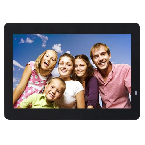 14 inch LED Display Multi-media Digital Photo Frame with Holder & Music & Movie Player, Support USB / SD / MS / MMC Card Input(China (Mainland))