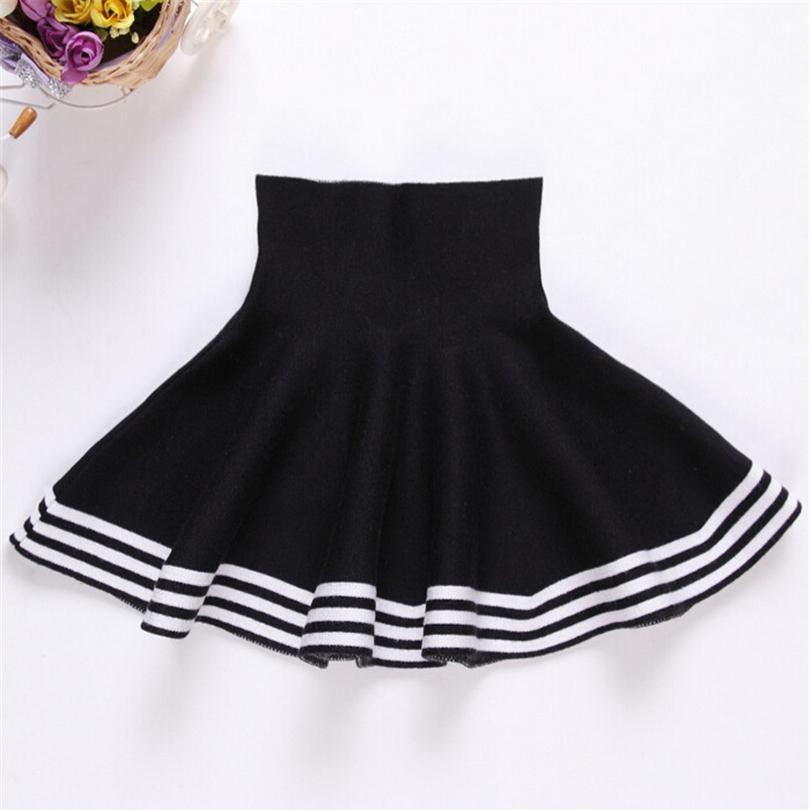 New 2016 autumn winter baby girls High waisted skirt saia ...