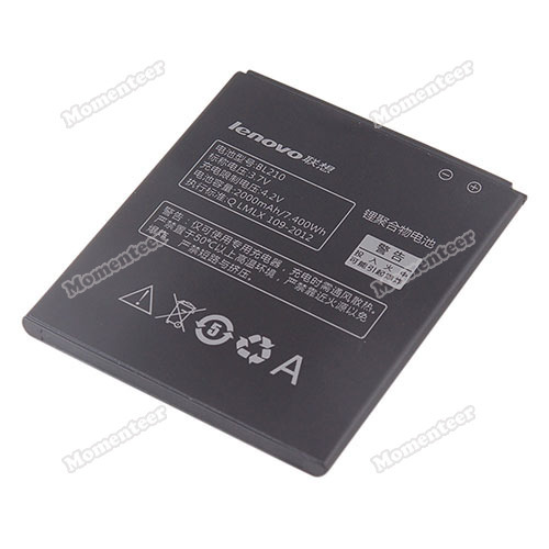 momenteer Original Lenovo S820 Smartphone Rechargeable Lithium Battery 2000mAh BL210 3 7V High Quality