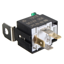 DC12V 30A 4 Pins Electronic Relay Car Automotive Relay with Insurance Film Car Bike Van Auto Fused On/Off(China (Mainland))