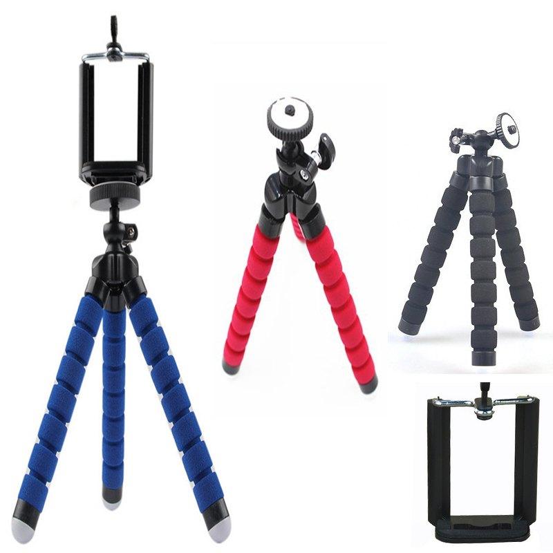 Flexible Leg Camera Tripod Mini Tripod for Gopro Camera and Phone+ Clip Holder Gopro Mount Adapter Holder for Gopro Hero3(China (Mainland))