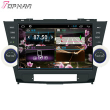 """Professional Quad Core 10.1"""" Android 4.4 Car GPS For Toyota Highlander With Stereo Radio BT Wifi GPS Map Capacitive Screen"""