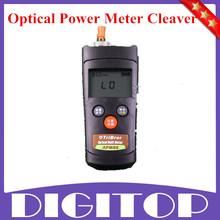 2014 nueva fibra óptica FTTH Tool Kit cuchilla de la fibra FC-6S 1 mw Visual Fault Locator + mini Optical Fiber Power Meter envío gratuito