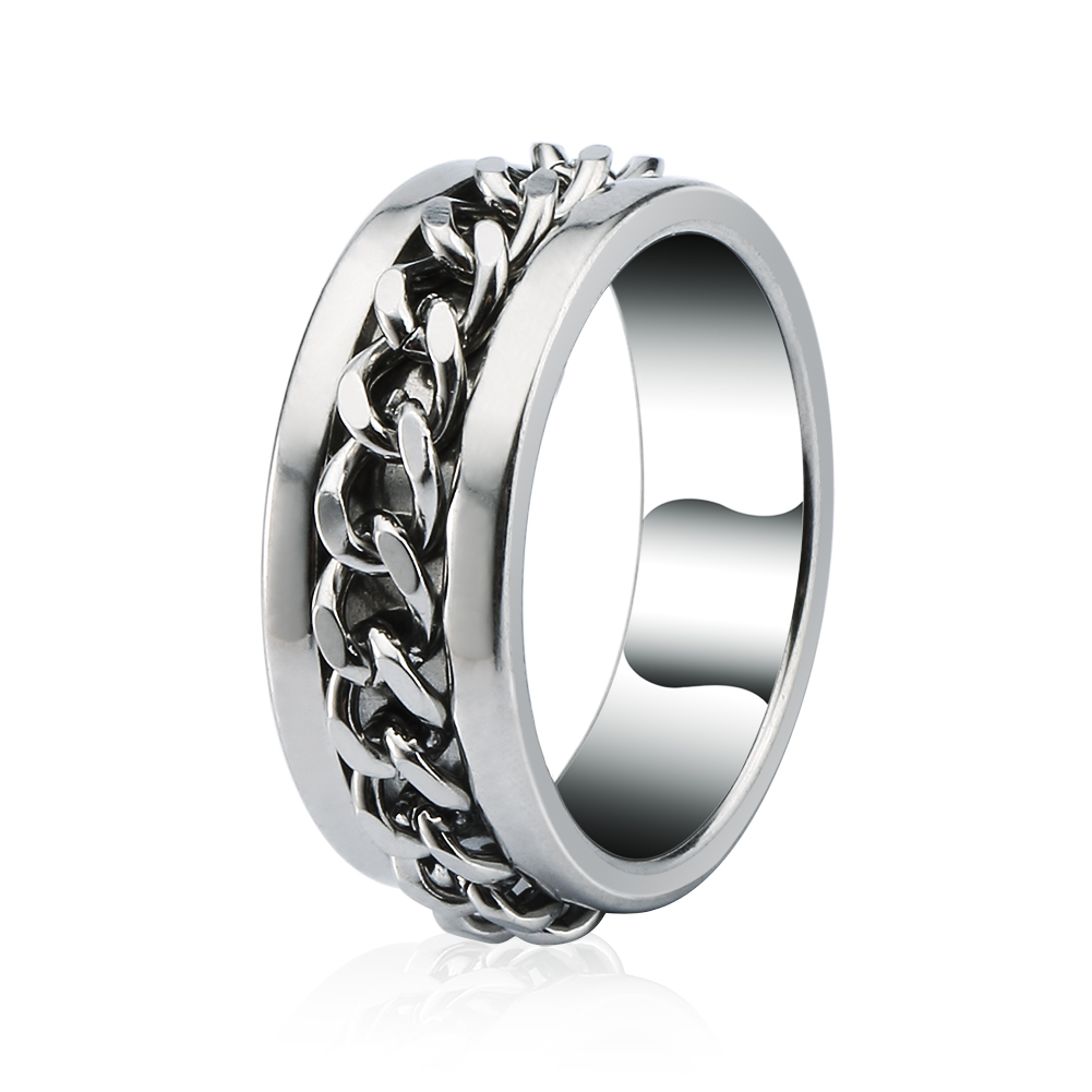 High quality Fashion jewelry Men 'scool 316L surgical stainless steel ring , women 's tungsten ring(China (Mainland))