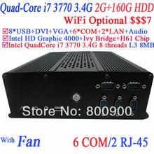 mini itx desktop pc Mini pcs with Intel i7-3770 3.4Ghz 3.9Ghz Turbo LGA 1155 77W Quad-Core Desktop Processor 2G RAM 160G HDD