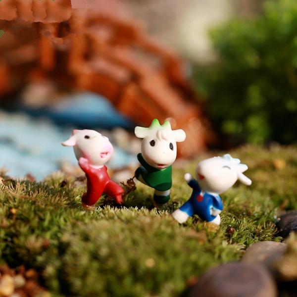 ふくらはぎ人形ミニ装飾diyアクセサリーおもちゃマイクロデコ風景盆栽盆栽ガーデンテラスランダムに