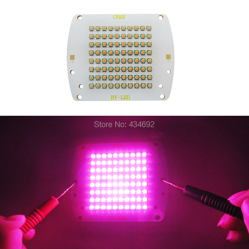 300W Full Spectrum 380NM - 840NM Plant Flower Grow Bloom Led Moudle For DIY High Power Plant Grow Led Emitter Lamp Light(China (Mainland))