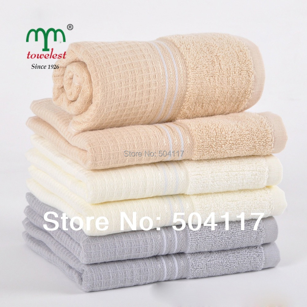 """New 2016 Best Selling - -2PC/Lot 34*72cm(13""""*28"""") 100% Cotton Hand Towel Knitted Face Cleansing Towel 010515(China (Mainland))"""