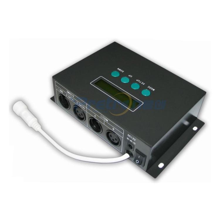DC12V LED Digital Controller (Output signal: IC LPD6803/D705 special protocol)(China (Mainland))