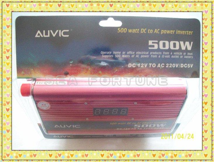 Power Inverter 500W DC To AC inventer 500watt DC to AC power inverter Designed in USA
