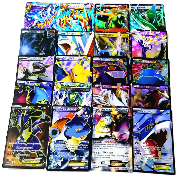 Гаджет  15 pieces/lot  New  EX Pokemon cards pack XY card package settled children the gift of choice None Игрушки и Хобби