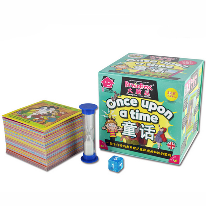 NEW Broin Box:Once Upon A Time Board Game 55 Pieces Cards Game English Edition For Children Learning High Quality Cards(China (Mainland))