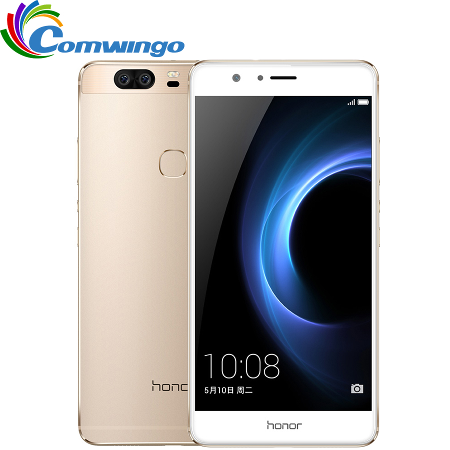 Original Huawei Honor V8 5.7 inch 2560*1440 2K Screen Mobile Phone Android 6.0 Kirin 950 Octa Core 4GB RAM VR Glass(China (Mainland))