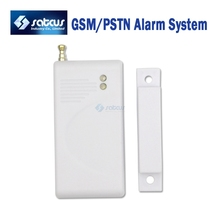 Extra Door/window Magnetic Sensor for Wireless GSM/PSTN Alarm System, Security Accessories 5pcs/lot