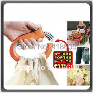 10x one trip grip bag holder/shopping handle/plastic carry handle/comfortable soft-grip handle 10pcs/lot as seen on TV(China (Mainland))