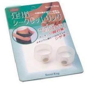 New Magnetic Silicon Foot Massage, Toe Ring ,Weight Loss ,Retail packaging,1 pack=2 pcs , free shipping 1 pack