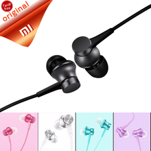 Buy Original Xiaomi Earphones Piston Basic Microphone Mic Handsfree Wire Control Xiaomi Piston Headset Support Noise Cancelling for $5.99 in AliExpress store