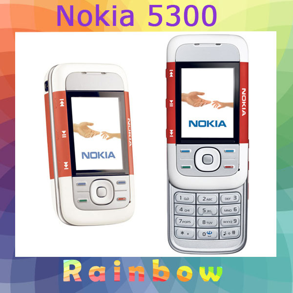 Original Nokia 5300 Bluetooth Java Unlock Mobile Phone Free Shipping Refurbished(China (Mainland))