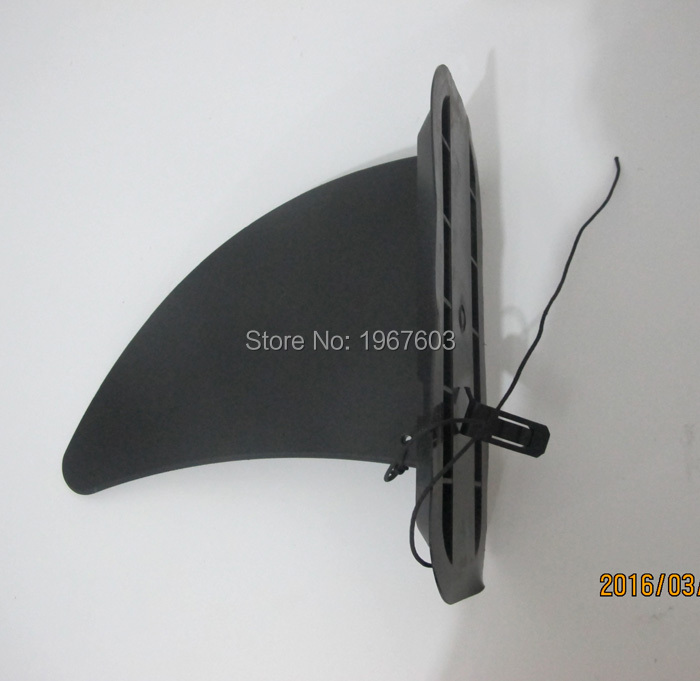 2016 Center Surf Fin with Fin box for inflatable Stand up paddle board, surfboard summer water sport(China (Mainland))