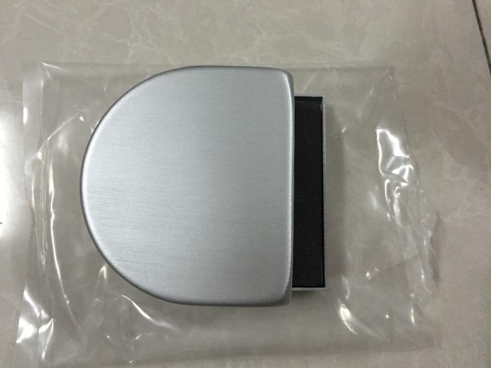 Glass Door Lock Strike box, anodized aluminium(China (Mainland))