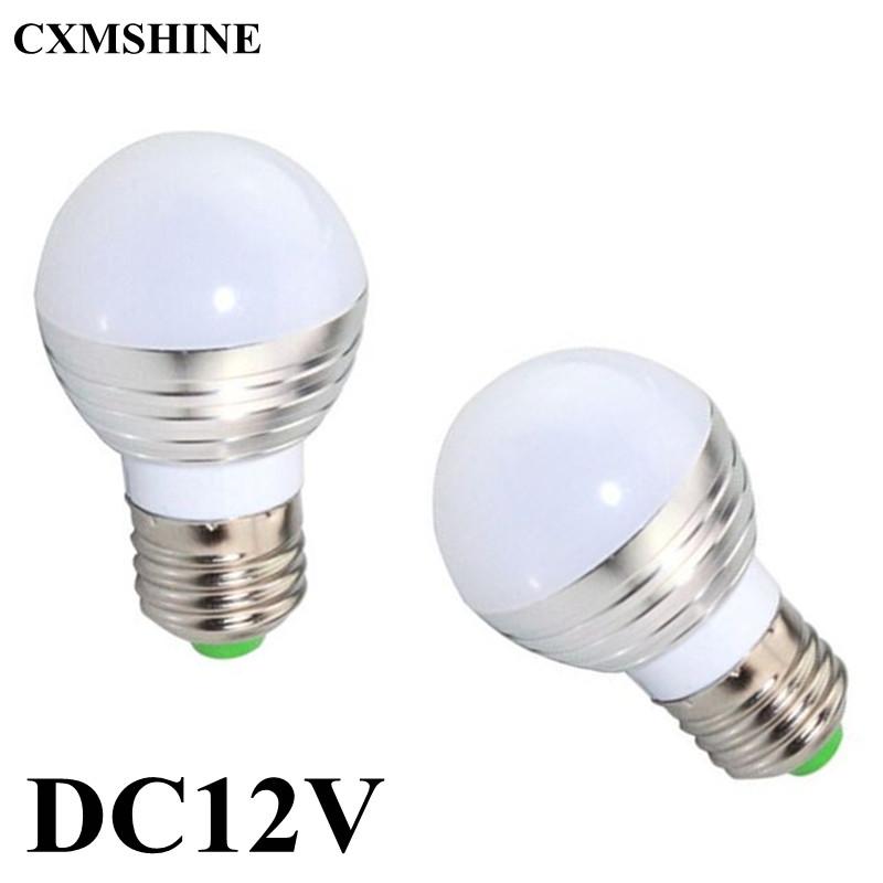 10pcs/lot E27 E14 B22 DC12V 6W LED Bulb Warm White/Cool White led Bulb Lamp CE ROHS China post Free(China (Mainland))