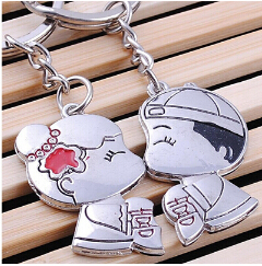New Picture Frame Key Ring Chain Transparent Blank Insert Photo Key Chain(China (Mainland))