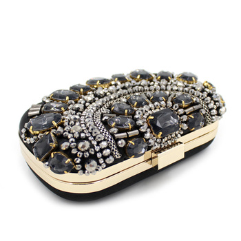 Women's Crystal Rhinestone Clutch