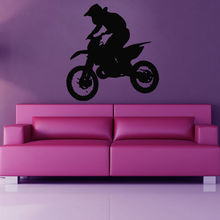 Cycling Sticker Motorcycle Decal Muurstickers Posters Vinyl Art Wall Decals Pegatina Quadro Parede Decor Mural Cycling Sticker(China (Mainland))