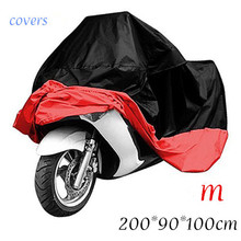 All Size Waterproof Breathable Motorcycle Covers Outdoor Motorcycle Scooter Rain Coat UV Protective Covering for all motorcycle(China (Mainland))