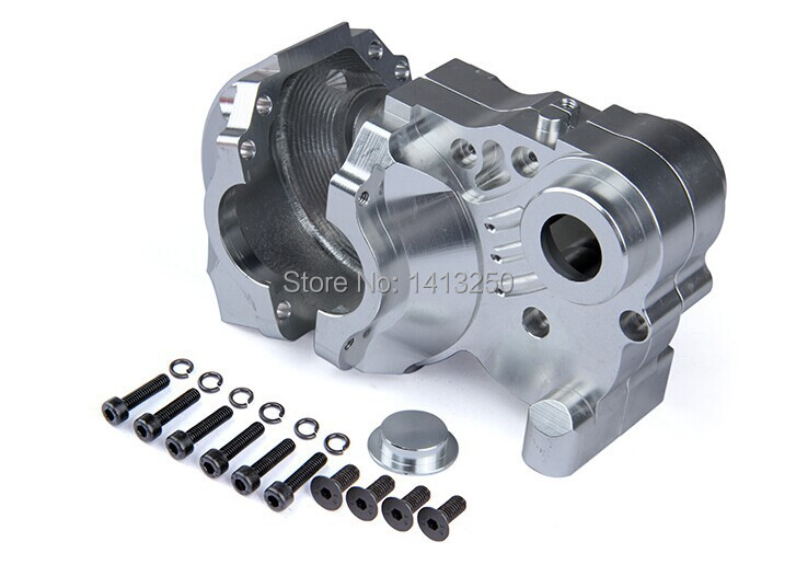 Baja Spare parts,CNC GearBox Set for baj ,Silver color  free shippings<br><br>Aliexpress