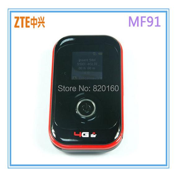 ZTE MF91 LTE 4G WiFi Router(China (Mainland))
