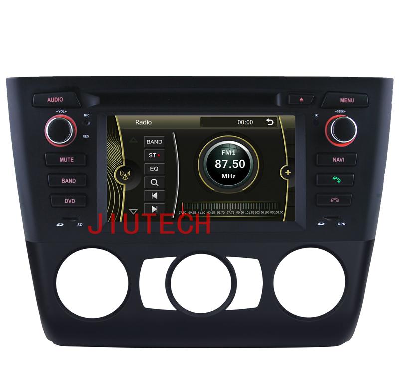 Car GPS DVD Player for B-M-W 1 Series E81 E82 1 Series 116i 118i 120i 130i bluetooth USB Analog TV IPOD Steering wheel control(China (Mainland))