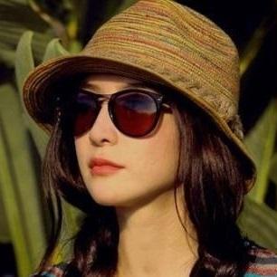 Новинка сомбреро женщины летняя шляпа, девушки красочные соломы sunhats джаз шляпа ...