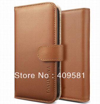 Fancy Mobile Cell Phone Card Leather Flip Cases For iPhone5
