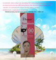 100ml Prevent bask in segregation Whitening Moisturizing and skin protect sunblock Skin Care SPF 90 Sunscreen