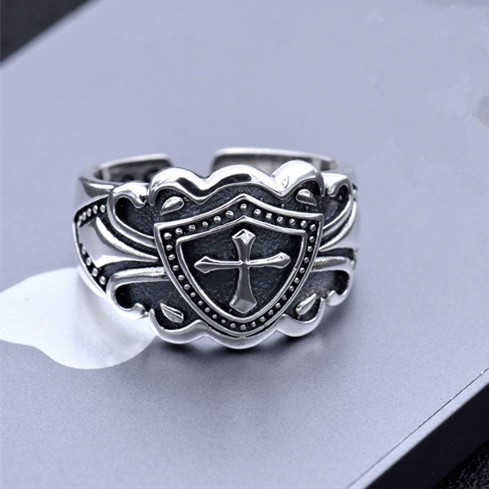 Wholesale 100% Real Pure 925 Sterling Silver Ring Vintage Brand ring Fine Jewelry free shipping big size Men Jewelry HR08