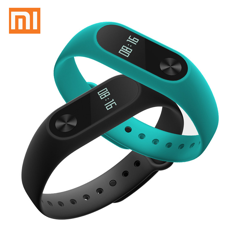 Original Xiaomi Mi Band 2 Wristband Bracelet OLED Display Touchpad Smart Heart Rate Monitor MiBand 2 Fitness Tracker xaomi