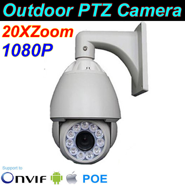 2014 Real Endoscope Hd Ip Ptz Camera, 2.0mp Camera 20x Zoom, Ir Distance 120m, Support Onvif,resolution 1080p, High Speed Dome(China (Mainland))