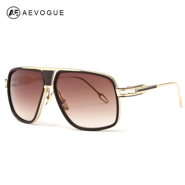 Aevogue людей Newest урожай большой кадров выпученными летний стиль дизайн бренда солнцезащитные очки óculos De Sol UV400 AE0336