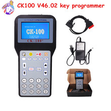 Free Shipping 2016 Newest V46.02 CK100 CK100+ Key Programmer With Multi-language OBD2 CK100 Car Key Pro SBB With 1024 tokens