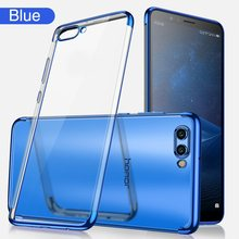 OTAO Plating Soft TPU Case For Huawei Mate 20 Pro P20 Plus P10 Lite 20x Cases For Honor 8x Max 9 10 Play 8 Ultra Thin Clear Capa(China)