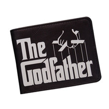Buy Cool Movie Godfather Wallet Men Vintage Letter Printing Short Leather Wallets Bifold Dollar Money Bag ID Card Holder Purse for $3.99 in AliExpress store