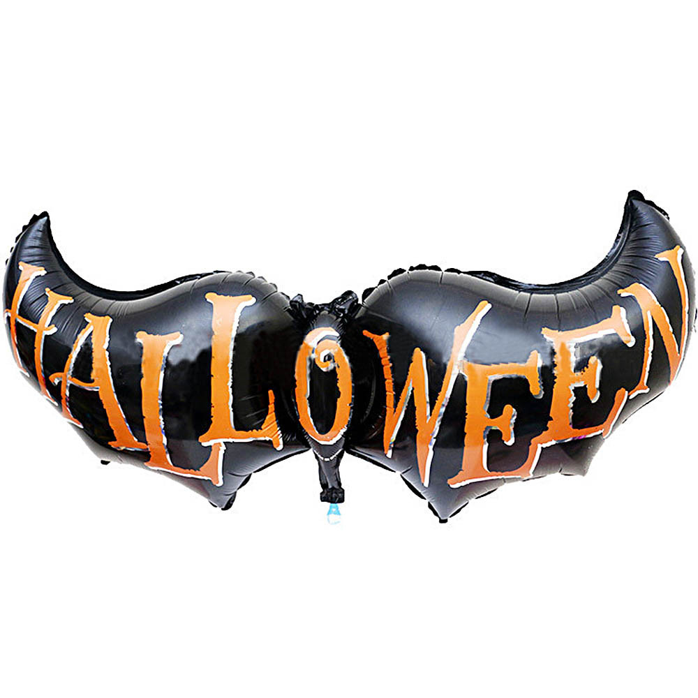TAO Halloween Bat wings Decorative Foil BalloonsFREESHIPPING(China (Mainland))